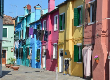 A view of Burano