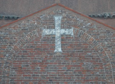 Ancient cross in Torcello