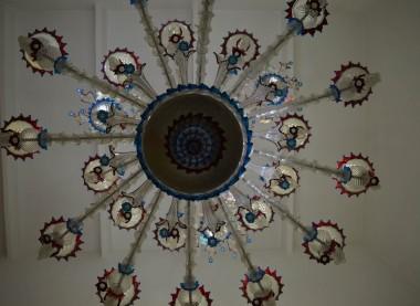 Chandelier in venetian style