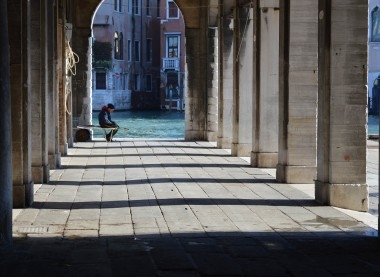 Sun & shade in Venice