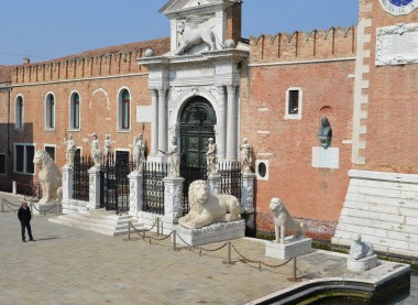 Entrance of the Arsenal of Venice