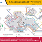 ACTV Vaporetto map