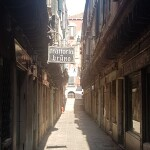 Calle del Paradiso empty